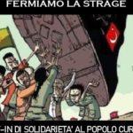 Solidarietà al popolo curdo: sit-in ad Agrigento