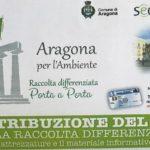 Raccolta differenziata ad Aragona: già consegnati centinaia di mastelli per il nuovo servizio porta a porta