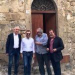 Racalmuto, visita privata del ministro Provenzano alla casa di Leonardo Sciascia