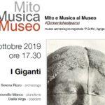 Agrigento, domeniche al parco: il 6 ottobre Mito e musica al Museo Griffo