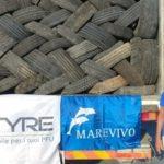 Lampedusa: raccolti più di 1.000 pneumatici usati da fondali e dall'isola, prossima tappa a Linosa
