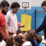 """La Real Basket Agrigento conclude il progetto """"Scuola"""" all'Istituto Esseneto: ospiti coach Cagnardi e i giocatori della Fortitudo Agrigento"""