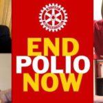 Lotta contro la poliomielite: continua l'impegno del Rotary International