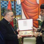 Agrigento, Sindaco e Cardinale incontrano Papa Chiesa copta Ortodossa