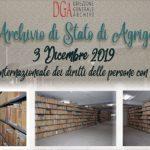 """""""Giornata internazionale dei diritti delle persone con disabilità"""": il patrimonio archivistico accessibile e i percorsi culturali inclusivi"""