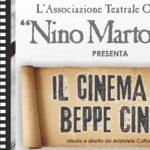 """Cineforum a Grotte: """"Il cinema di Beppe Cino"""""""