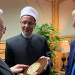 Firetto e Montenegro in visita Al Cairo nella moschea Al-Azhar