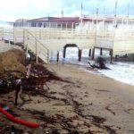 Continua l'erosione costiera a Eraclea Minoa: allarme di Mareamico – VIDEO