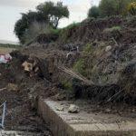 Maltempo in provincia: notevoli danni sulle strade interne