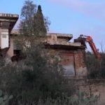 Porto Empedocle, crolla rudere disabitato: disagi alla viabilità lungo la statale 115