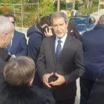 """Agrigento, il presidente Musumeci in visita al carcere """"Di Lorenzo"""": """"struttura disonorevole per il sistema penitenziario"""""""