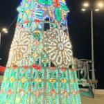 """Agrigento, a San Leone un albero di Natale di luminarie. Firetto: """"grazie Sir Rocco Forte"""""""