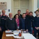 Licata, incontro per il giro ciclistico di Sicilia 2020