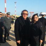 """Lampedusa, visita del ministro De Micheli sull'isola. Martello: """"incontro costruttivo, il governo dimostra attenzione per la nostra comunità"""""""