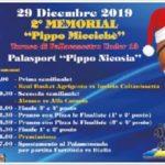 """Basket giovanile: il 29 dicembre al Palanicosia seconda edizione del memorial """"Pippo Miccichè"""""""