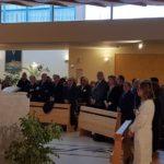 """Agrigento, partecipata messa d'auguri al """"San Giovanni di Dio"""" celebrata da monsignor Francesco Montenegro"""