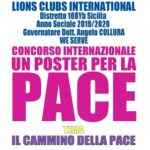 """Agrigento, successo per la cerimonia di premiazione del Concorso internazionale """"Un poster per la pace"""""""
