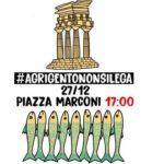 """Le """"sardine"""" giungono ad Agrigento: tutto pronto per il primo raduno in città"""
