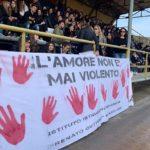Milazzo, gran bel goal di Aletheia contro la violenza sulle donne