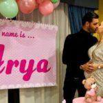 Clarissa Marchese e Federico Gregucci annunciano il nome della piccola: si chiamerà Arya