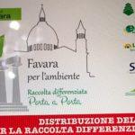Raccolta differenziata a Favara: ultime due settimane per la consegna dei mastelli e del materiale informativo per il porta a porta