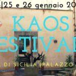 Ecco il programma del Kaos festival: a Sambuca di Sicilia 24, 25 e 26 gennaio