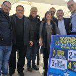 Raccolta firme di Fratelli d'Italia, grande successo anche a Ribera