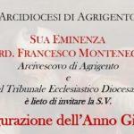 Inaugurazione Anno Giudiziario Tribunale Ecclesiastico Diocesano di Agrigento