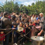 Successo al Giardino della Kolymbethra: richiamato il valore storico della capra girgentana