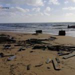 """Torre Salsa, resti peschereccio: tuga insabbiata appartiene ad una imbarcazione utilizzata per uno sbarco """"fantasma"""""""