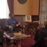 Sicilia, Musumeci riceve Salvini a Palazzo Orleans