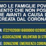 """Agrigento, emergenza Coronavirus: i """"Volontari di Strada"""" lanciano un appello alla solidarietà per aiutare le famiglie bisognose"""