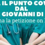 """""""No al centro Covid dentro il San Giovanni di Dio"""", la Cisl Fp avvia una petizione on line"""