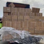 Coronavirus: arrivate altre 56 tonnellate di materiale acquistato dalla Regione