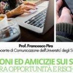 """Favara, all'Istituto """"Falcone Borsellino"""" seminario del sociologo Francesco Pira su """"Emozioni e Amicizie sui social, opportunità e rischi"""""""