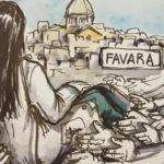L'abbraccio di Favara per Lorena, lenzuola bianche ai balconi per accompagnarla nell'ultimo viaggio