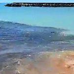 """""""Povero mare di San Leone"""", Mareamico: """"ingente quantitativo di acque fetide"""" – VIDEO"""