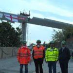 Ponte Morandi, si posa l'ultima campata – VIDEO