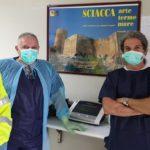 """Agrigento, ingegneri consegnano il ventilatore polmonare """"vivo 55"""""""