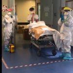 Coronavirus, empedoclino dimesso dalla terapia intensiva Covid: commozione e applausi – VIDEO
