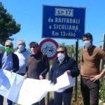 Consegnati i lavori  per il miglioramento della Strada Provinciale SP 17-B Raffadali-Siculiana