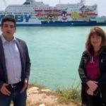"""Porto Empedocle, arriva la nave-quarantena per migranti. Perconti (M5s): """"risultato importante"""" – VIDEO"""