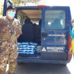 "Siculiana, i militari donano generi alimentari alla ""Misericordia"""