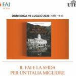 Il Paese più bello del mondo, Alberto Saibene ad Aragona per presentare il suo libro sul FAI