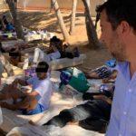"""Matteo Salvini a Lampedusa: """"Non vedo l'ora di tornare al governo per richiudere i porti ai delinquenti e riaprirli a pescatori e turisti"""" – VIDEO"""