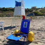 Sciacca, mare fruibile da tutti: sedie job anche a San Marco e San Giorgio