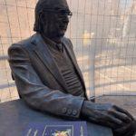 Agrigento, ad un anno dalla morte di Andrea Camilleri la posa della sua statua