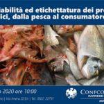 """""""Tracciabilità ed etichettatura dei prodotti ittici, dalla pesca al consumatore"""", incontro in Confcommercio"""
