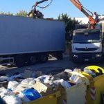 Raccolta differenziata ad Agrigento: operatori ecologici al lavoro per ripulire la città