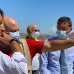 Il vice ministro Cancelleri ha raggiunto i cantieri della SS189 della Palermo – Agrigento